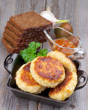 Fried Cutlets Stock Image
