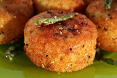 Fried Dhokla Stock Image