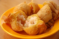 Fried dimsum Stock Photos