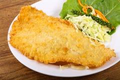 Fried Dory fish Royalty Free Stock Photos