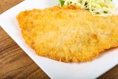 Fried Dory fish Stock Photo