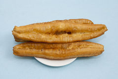 Fried dough sticks. Chinese Breakfast, fried dough sticks Stock Photography
