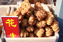 Fried dough twist of chinese snack Stock Photography