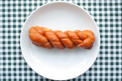Fried dough twist Stock Photography