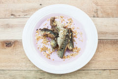 Fried Dried Fish Fotografia Stock