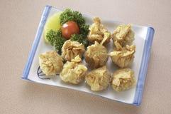 Fried dumpling Stock Image