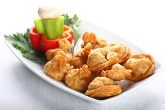 Fried dumpling Stock Photos