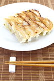 Fried Dumpling imagem de stock royalty free