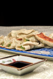 Fried dumpling. Chinese traditional food fried food photos Stock Images