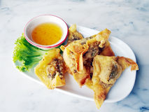 Fried dumplings Royalty Free Stock Photo