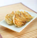 Fried dumplings Royalty Free Stock Photos