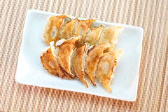 Fried dumplings Stock Photos