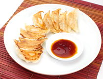Fried dumplings Stock Images