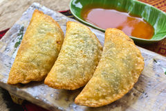 Fried dumplings Royalty Free Stock Image