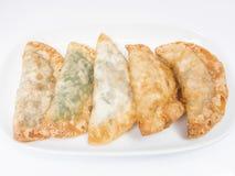 Fried dumplings :chinese food,asian food. Stock Photo