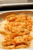 Fried Dumplings Chinese Style Foto de archivo libre de regalías