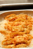 Fried Dumplings Chinese Style Royalty Free Stock Photo