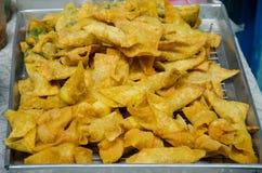 Fried dumplings Royalty Free Stock Images
