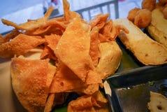 Fried dumplings Stock Image