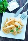 Fried dumplings Royalty Free Stock Photography