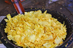 Fried durian Stock Photos