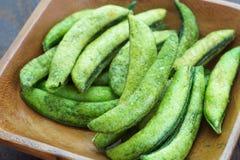 Fried edamame Stock Images
