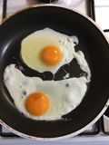 Fried Egg Fotografie Stock Libere da Diritti