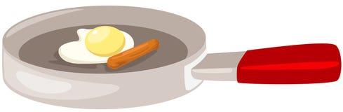 Fried egg Royalty Free Stock Image