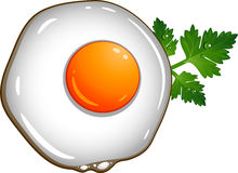 Fried egg Royalty Free Stock Photo