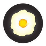 Fried Egg Fotografia Stock