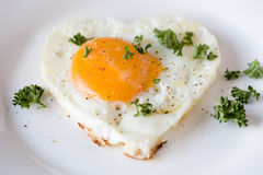 Fried egg Stock Photos