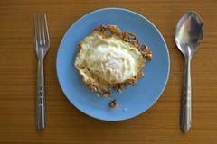 Fried Egg Royalty-vrije Stock Fotografie