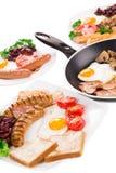 Fried Egg Royalty-vrije Stock Afbeelding