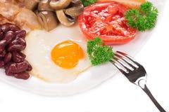 Fried Egg Royalty-vrije Stock Afbeeldingen