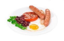 Fried Egg Stock Foto's