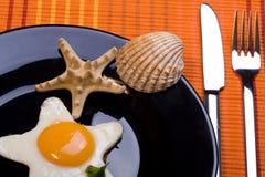 Fried egg 5 Stock Photo