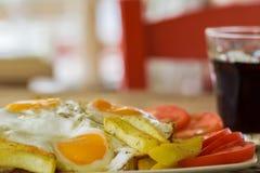 Fried Egg Fotografía de archivo libre de regalías