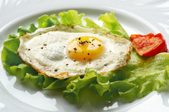 Fried Egg Images libres de droits