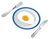 Fried egg Stock Image