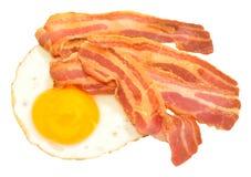 Fried Egg And Bacon Rashers Royalty Free Stock Photos