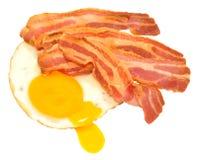 Fried Egg And Bacon Rashers Stock Photo