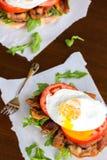 Fried Egg BLT Stock Images