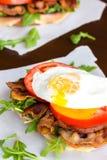 Fried Egg BLT Stock Photos