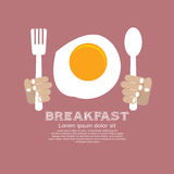 Fried Egg Breakfast. Stock Image