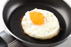 Fried egg Stock Photography