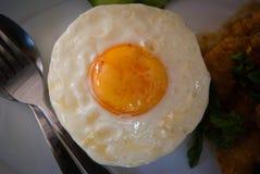 Fried egg Stock Photo