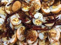 Fried egg gourd Stock Photos