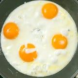 Fried Egg no brinde Fotos de Stock