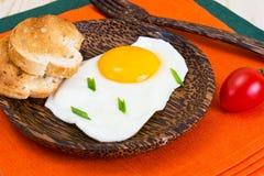 Fried Egg Omelette Stockbild