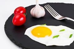 Fried Egg Omelette Lizenzfreie Stockbilder